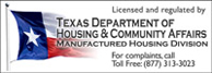 Licensed and regulated by the Texas Department of Housing and Community Affairs.