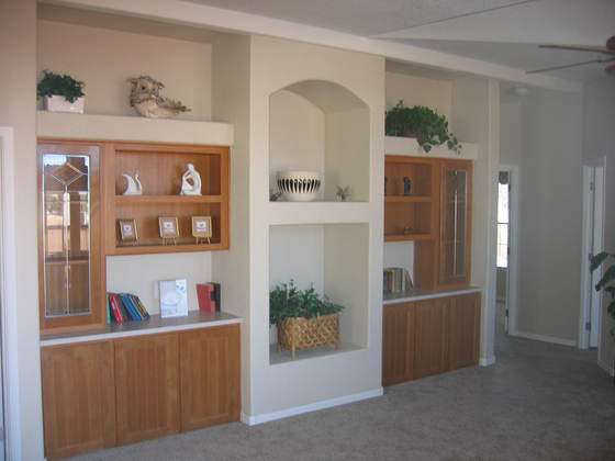 Wall cabinets with TV Nich